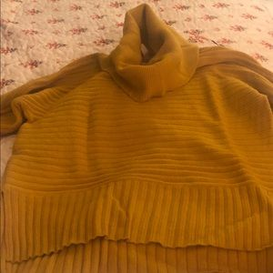 USED Anthropologie turtleneck sweater (MOTH)